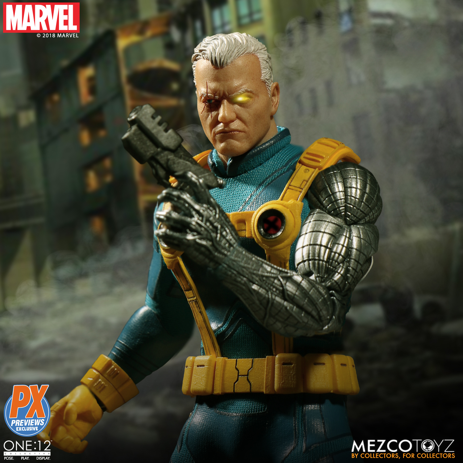 exclusive one 12 collective cable x-men variant figure up for order