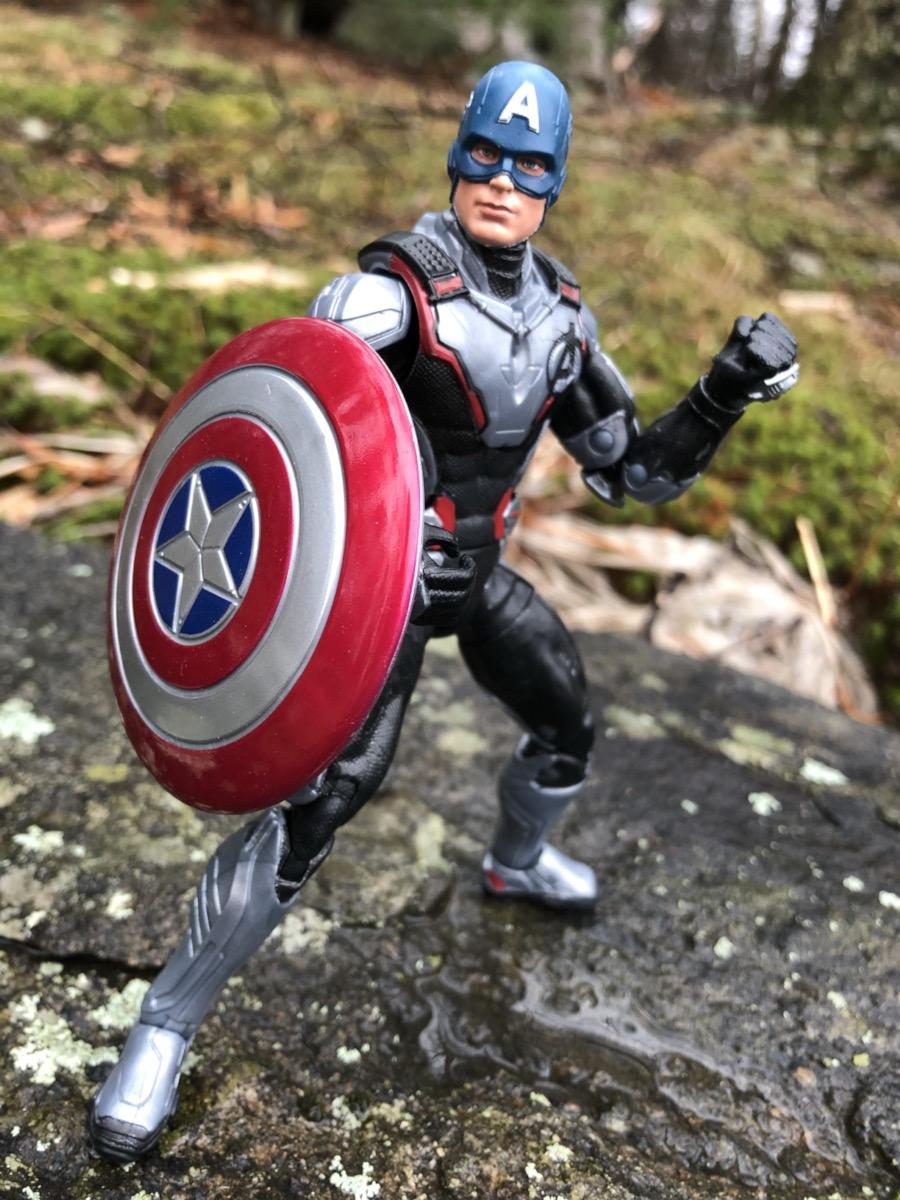 Captain America Marvel Legends Endgame