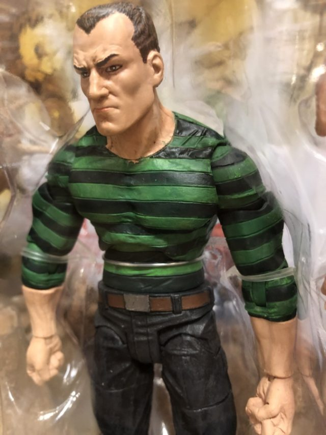 Close-Up of Marvel Select Sandman Action Figure