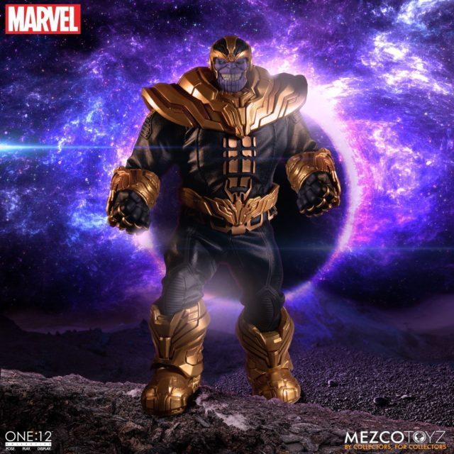 Mezco Toyz Thanos ONE 12 Collective Figure