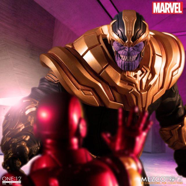 Thanos Mezco Toyz ONE 12 Collective 8 Inch Action Figure