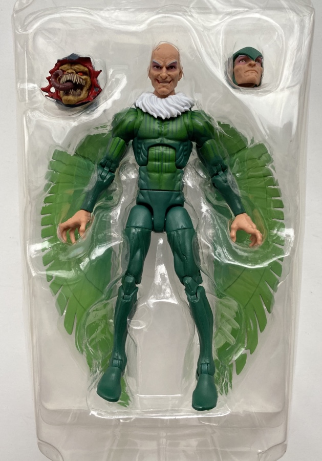 Hasbro Vulture Marvel Legends Figure and Accessories Demogoblin BAF Head