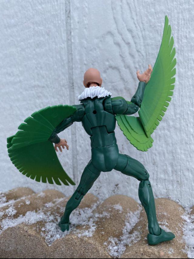 Back of 2020 Hasbro Marvel Vulture Legends Figure
