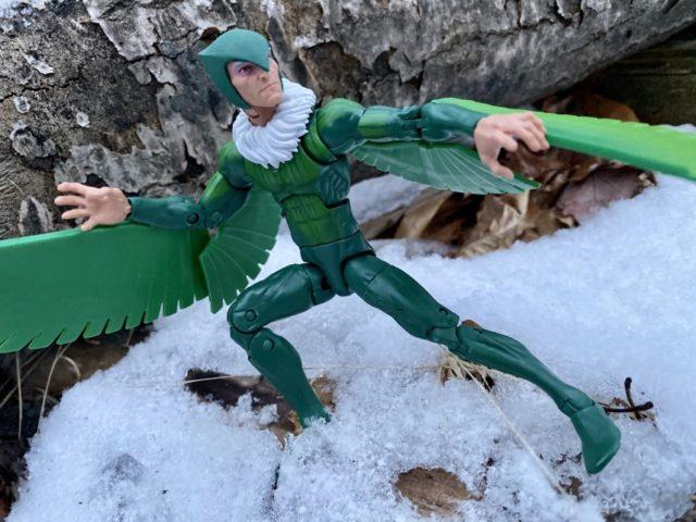 Hasbro Marvel Legends Spider-Man Vulture Figure Alternate Head