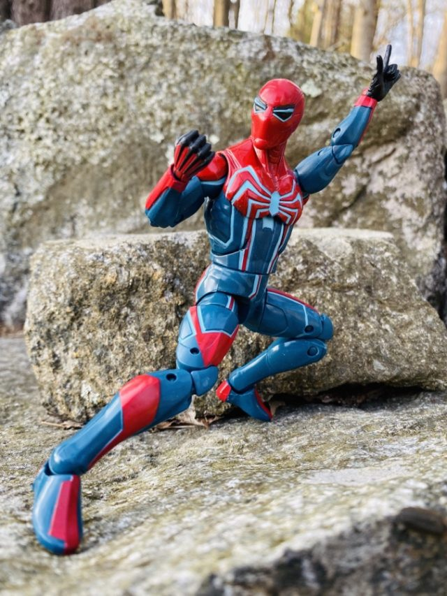 PS4 Spider-Man Velocity Suit Costume Hasbro ML Action Figure Review