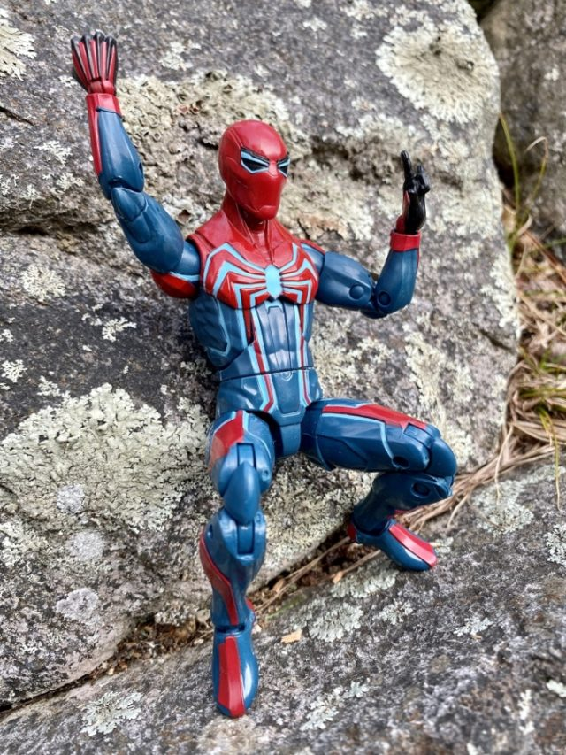 "Velocity Suit Spider-Man Marvel Legends 6"" Figure Hasbro"