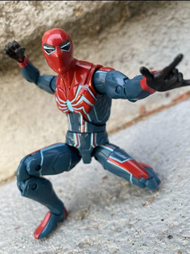 Review Marvel Legends Velocity Suit Spider-Man Figure