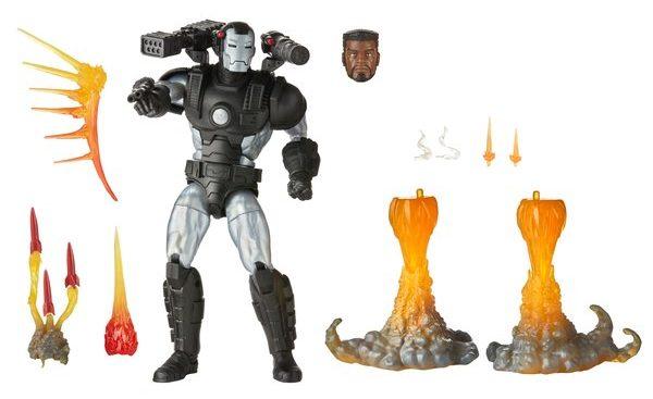 Marvel Legends War Machine Deluxe Figure and Accessories